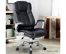 PU Leather Racing Style Office Chair Black Free Shipping Australia wide