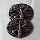 Mechanic Belt Buckle With Pewter Finish Suitable For 4cm Width Belt