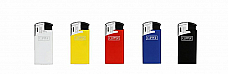 Clipper super lighter  BRIO  large electronic gas refillable set of five