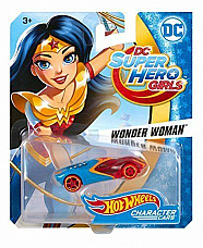 Hot Wheels DC Super Hero Girls Wonder Woman Character Car collectable