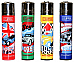 CLIPPER LIGHTERS wholesale  48 english cars  collectable comes 3 led lighters