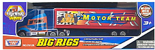 motor max 76128 motor team Die Cast Big Rig truck
