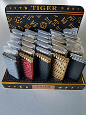 Zico/Tiger windproof  lighter gas refillable wholesale display