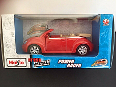 Maisto power racer VW Convertible highly detailed model licenced