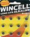 Batteries 12 x AG11,SR721S,SR58,362,LR721  Alkaline Long Life Wincell
