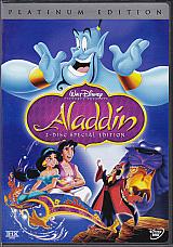 Walt Disneys Aladdin 2-Disc Special Platinum Edition NEW~!!!