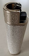 Clipper Silver case to suit your Clipper large lighter enhance your lighter