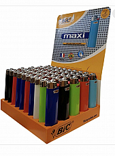 100 X Bic Lighter J26 LARGE MAXI BIC Lighters