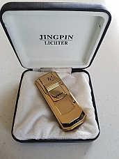 Jing Ping/ Jobon high quality cigar lighter gift boxed 12 months warranty