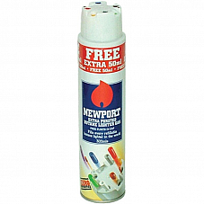 Newport  300ml Universal purified Butane Gas fills every refillable lighter x12