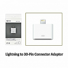 Lightning to 30Pin Connector Adapter,Lightning 8 pin USB Cable Adaptor,New iPho