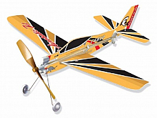 2 x SF-260 Rubber Band Powered Model Light Plane Kit: Lyonaeec Trainer