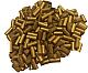Lighter Flint Gold 100 Pcs (TimelesBrands)