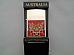 Tiger souvenir oil lighter Australiana high quality x 2 / 12 month warranty