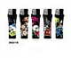 LIGHTERS ELECTRONIC GAS REFILLABLE TATTOO NEW PATTERN, QUALITY lot of five +++