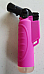 Jet  Flame Butane soft touch Pink hand held Torch Lighter powerful flame