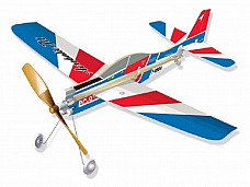 PC9  Rubber Band Powered Model  Plane Kit: Lyonaeec