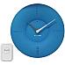 Alcyon Numberic Wall Clock   Wireless Remote Doorbell Door Bell blue