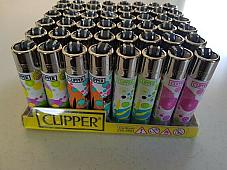 CLIPPER LIGHTERS wholesale  48 lighters Unique pattern  collectible