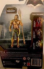 Mattel DC Comics 6 Batman V Superman Aquaman Includes Trident Figure.