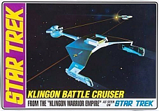 STAR TREK KLINGON BATTLE CRUISER PLASTIC MODEL KIT 1:650 scale  AMT720/12