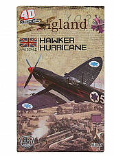 Model WWII Plane  Hawker Hurricane Model Kit 1 Collectable kit