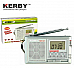 Kerby RADIO AM /FM/SW  RADIO  DIGITAL DISPLAY 12 BAND WORLD