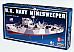 us navy minesweeper 44.4 cm long model number Lindberg 70830 1/125 static model