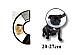 Dog  protection cone collar  small 2027 cm