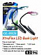 BOOK LIGHTS LED FLEXIBLE ARM, HIGH QUALITY LOT OF TWO 12 MONTH WARR