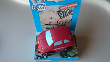 Motor Town by Mondo toys high quality soft touch  Fiat car made in Italy 18m+