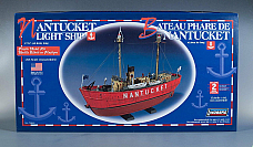 Lindberg Nantucket Light Ship 1/95 scale model number 70860