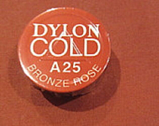 COLD WATER DYE DYLON, EASY TO USE IDEAL FOR CRAFTWORK  A25 Bronze rose