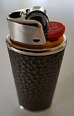 Bic Leather  case to suit your Bic large lighter enhance your lighter
