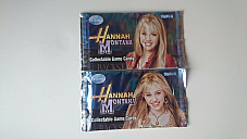 DISNEY HANNAH MONTANA COLLECTABLE GAME CARDS (2 PACKS) free postage