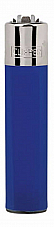 Clipper super lighter gas refillable collectable,solid colour blue