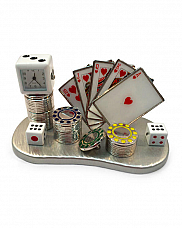 Poker set clock great gift idea for the hard to buy for.