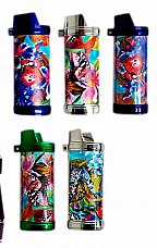 4-Bic Funky case to suit your Bic maxi lighter enhance your lighter Butterfly