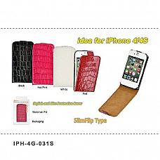 Ipone case for iphone 4 flip type