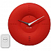 Alcyon Numberic Wall Clock   Wireless Remote Doorbell Door Bell Red