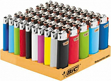 50 Genuine BIC Small Mini Cigarette Cigar Tobacco Lighter J25