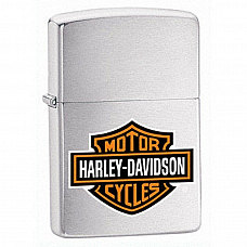 Genuine Zippo 200HD H252 Harley Davidson Logo Lighter / Made in USA