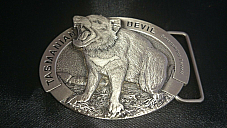 Tasmanian  devil  high quality  belt  buckle comes in a velvet  pouch