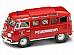 1962 Volkswagen Microbus Fire 1/43 by Yat Ming 43211. Huge Saving