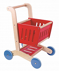 SHOPPING CART WOODEN TKC294