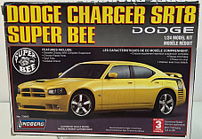 1:24 DODGE CHARGER SRT8 SUPER BEE Lindberg 73065 Free Shipping