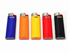 5  BIC Large Maxi  Lighters J26 Made in France comes with a free  torch lighter