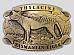 Tasmanian  Tiger  high quality  belt   buckle Tasmanian  made  very high quality