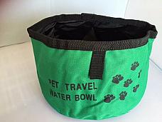 Pet travel bowl foldable convenient sturdy  good quality