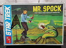 2009 cardboard box amt 625 Mr. Spock - Collectors Edition 1/12 model kit new
